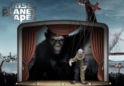 2011 rise of the planet of the apes wide2 - vtipný obrázok - Kalerab.sk