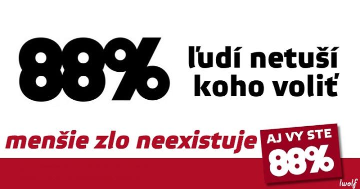 88percent - vtipný obrázok - Kalerab.sk