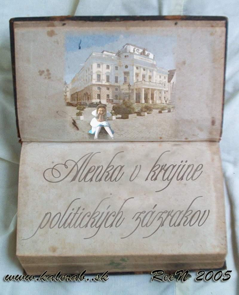 alenka book finalb - vtipný obrázok - Kalerab.sk
