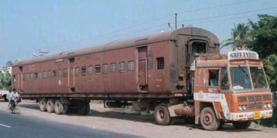 amazing train car - vtipný obrázok - Kalerab.sk