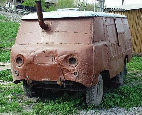 amusing mini van - vtipný obrázok - Kalerab.sk