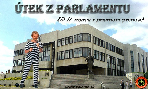 budova parlamentu 1 - vtipn� obr�zok - Kalerab.sk
