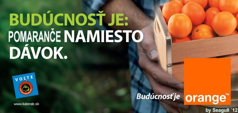 buducnost je orange 2 - vtipn� obr�zok - Kalerab.sk