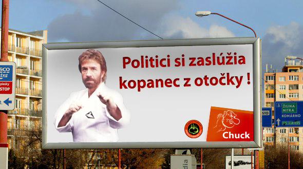 chuck norris - vtipn� obr�zok - Kalerab.sk