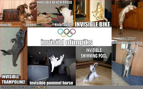 funny pictures invisible olympics - vtipný obrázok - Kalerab.sk