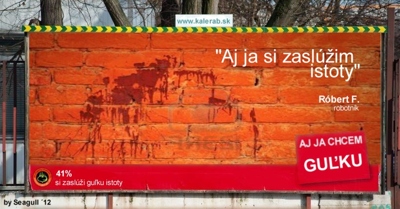 gulka istoty mur - vtipn� obr�zok - Kalerab.sk