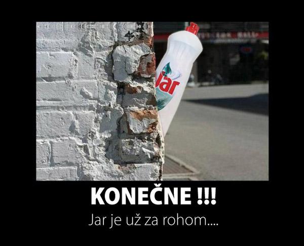 jar za rohom2 - vtipný obrázok - Kalerab.sk