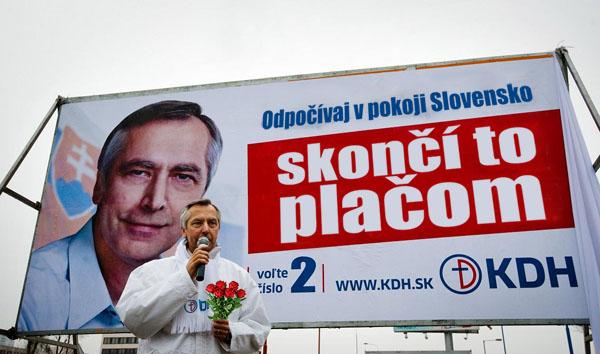 kdh billboard - vtipn� obr�zok - Kalerab.sk