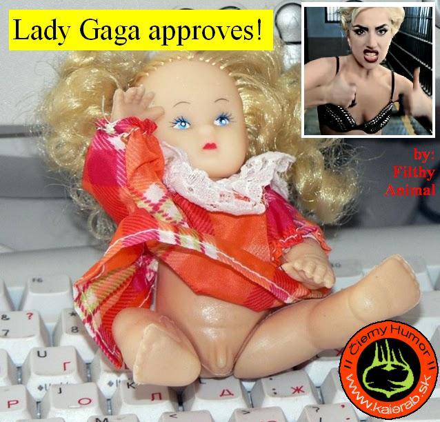lady gaga1 - vtipný obrázok - Kalerab.sk