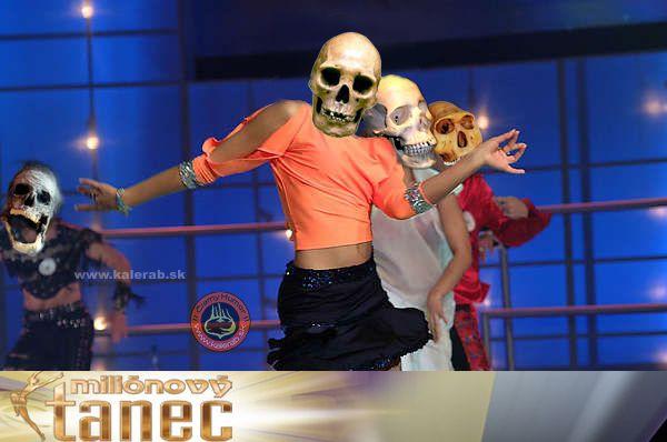 milion tanec - vtipný obrázok - Kalerab.sk