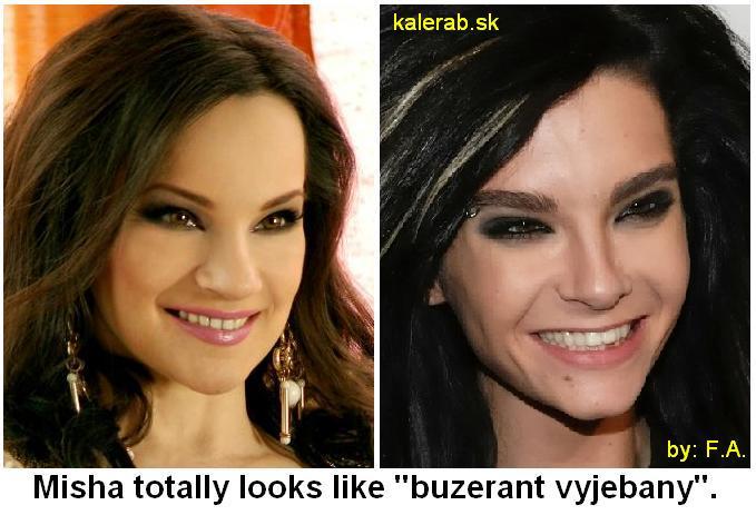 misha kaulitz buzerant kalerab - vtipný obrázok - Kalerab.sk