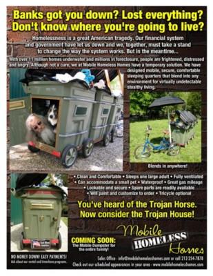 mobile homeless flyer  final  lr  500x647 - vtipný obrázok - Kalerab.sk