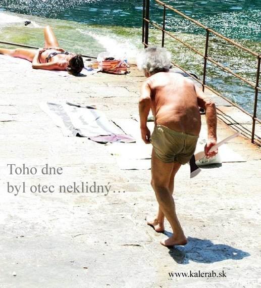 otec - vtipný obrázok - Kalerab.sk