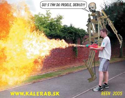 plamenometreenb 01 - vtipný obrázok - Kalerab.sk