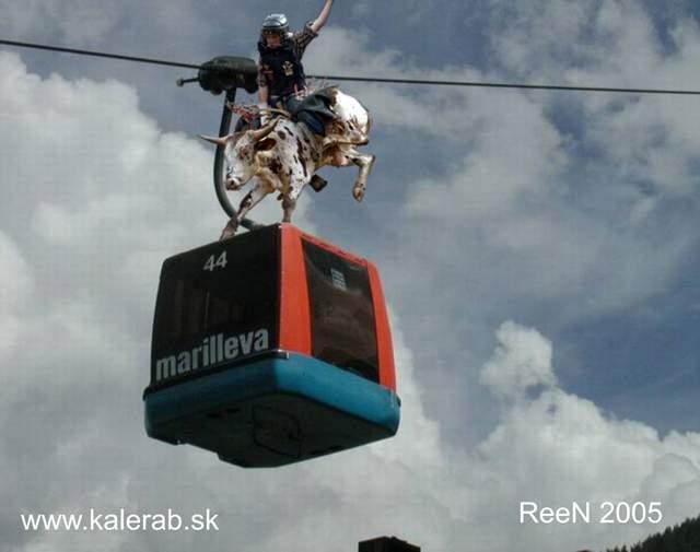 rodeoa 001 - vtipný obrázok - Kalerab.sk