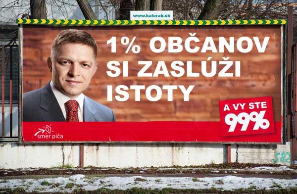 smer pi a 99 percent billboard - vtipn� obr�zok - Kalerab.sk
