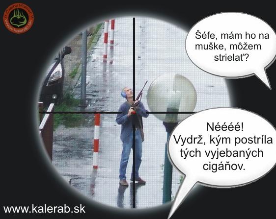 strelec6 - vtipný obrázok - Kalerab.sk