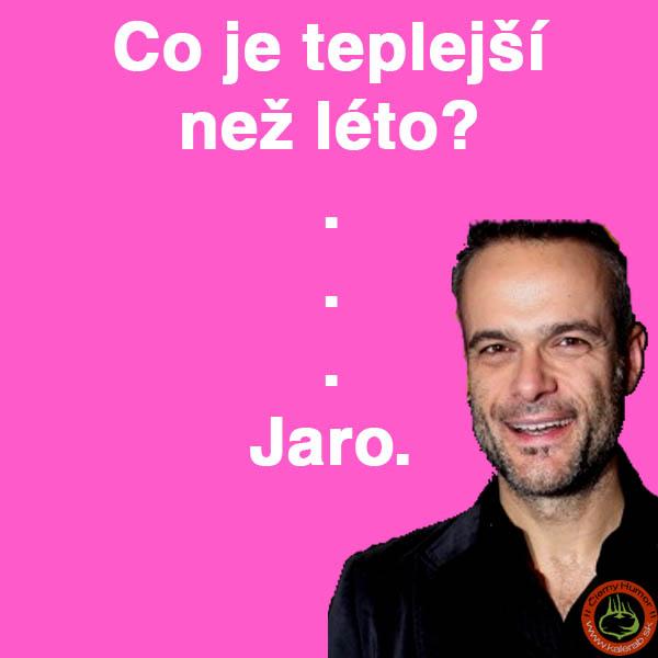 teplejsi nez leto jaro - vtipný obrázok - Kalerab.sk
