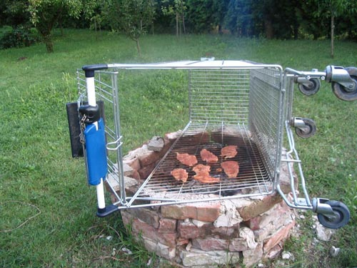 tesco gril za 50 centov - vtipný obrázok - Kalerab.sk