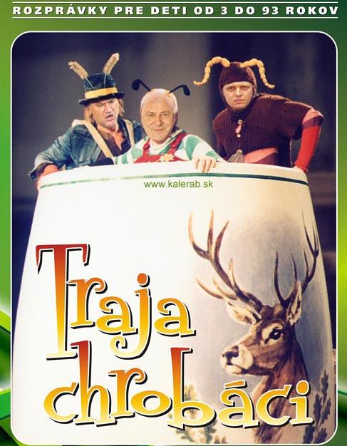traja chrobaci copy - vtipný obrázok - Kalerab.sk