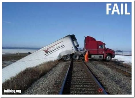 truck fail2 - vtipný obrázok - Kalerab.sk
