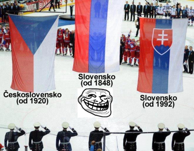 vlajky troll - vtipný obrázok - Kalerab.sk