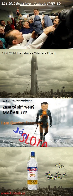 volby fico - vtipný obrázok - Kalerab.sk