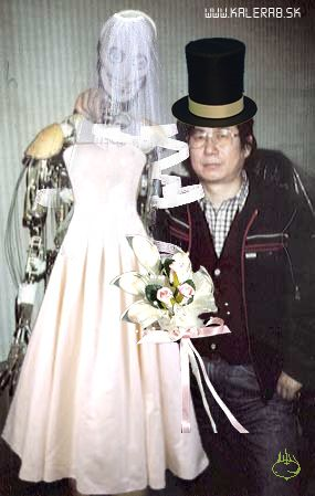 wedding robot - vtipný obrázok - Kalerab.sk