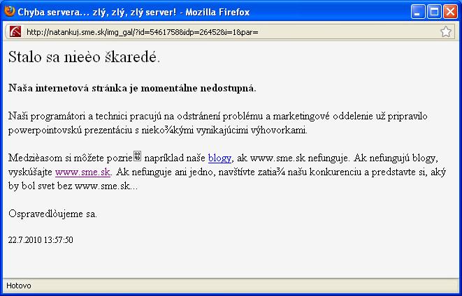 zly server - vtipný obrázok - Kalerab.sk