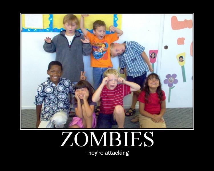 zombies - vtipný obrázok - Kalerab.sk